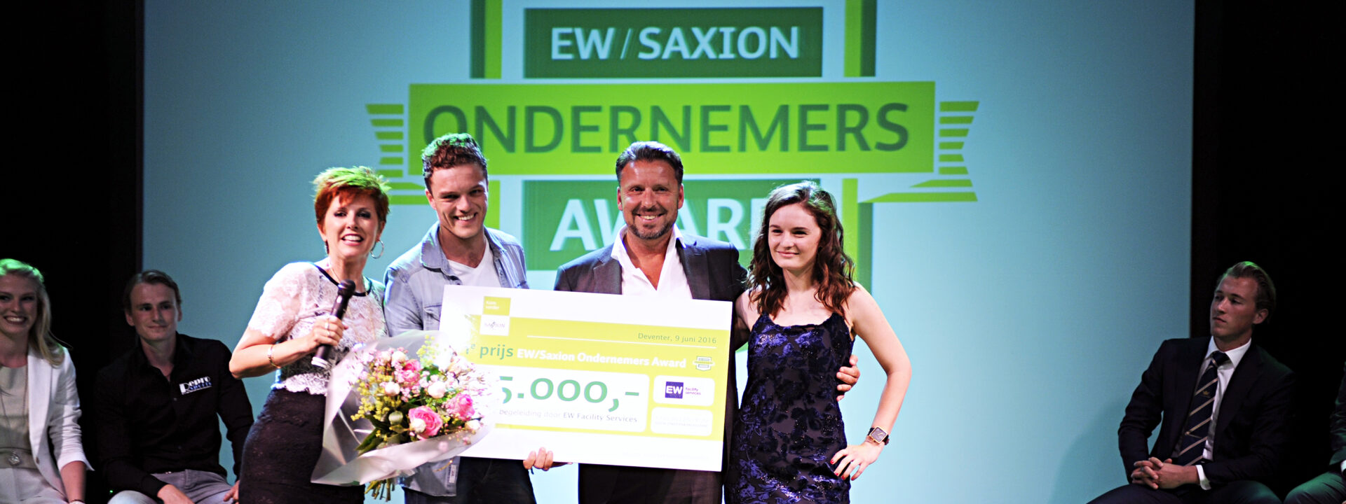 Helft aanmeldingen EW/Saxion Ondernemers Award is al ondernemer