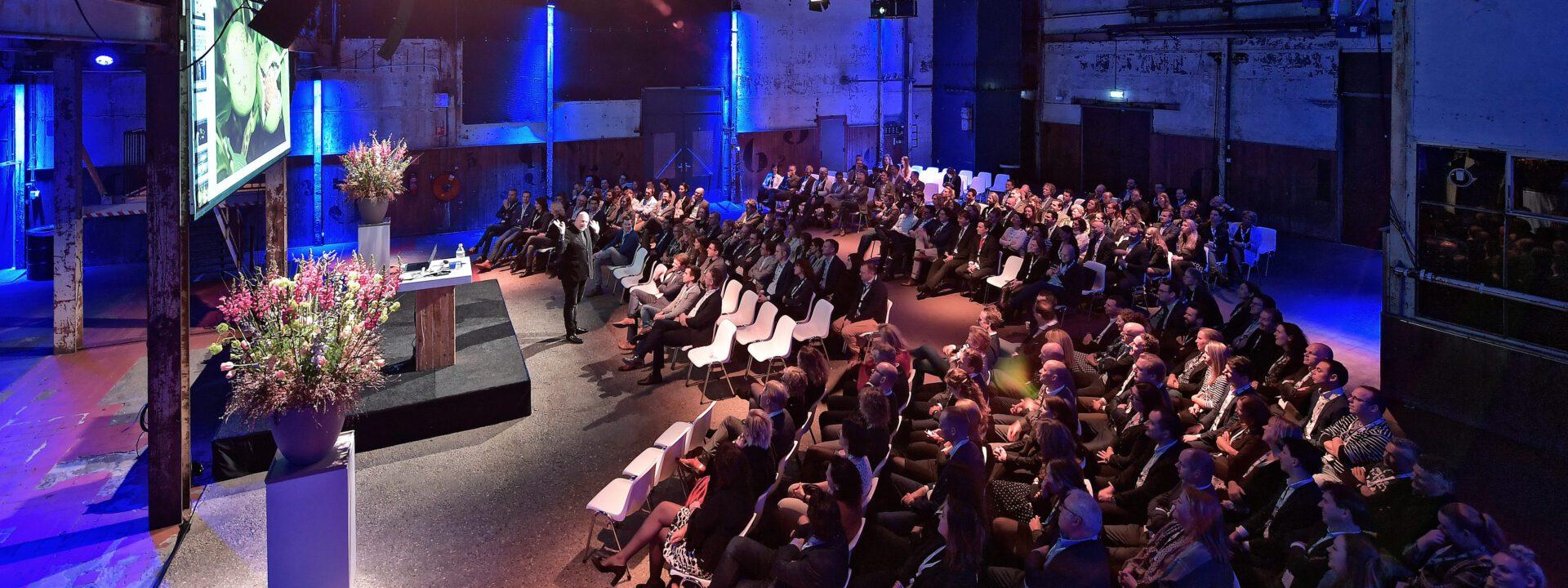 Ruud Veltenaar schetst inspirerende toekomst tijdens event EW Facility Services
