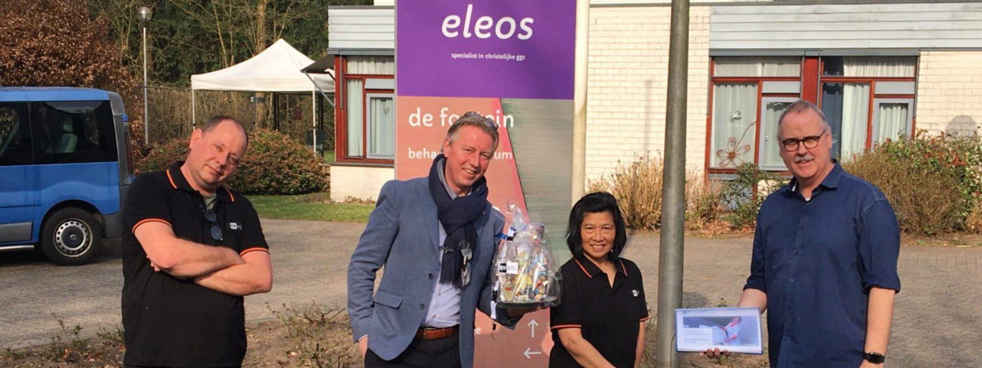 GGZ-locatie Eleos de fontein vindt in EW Facility Services een professionele partner die ontzorgt