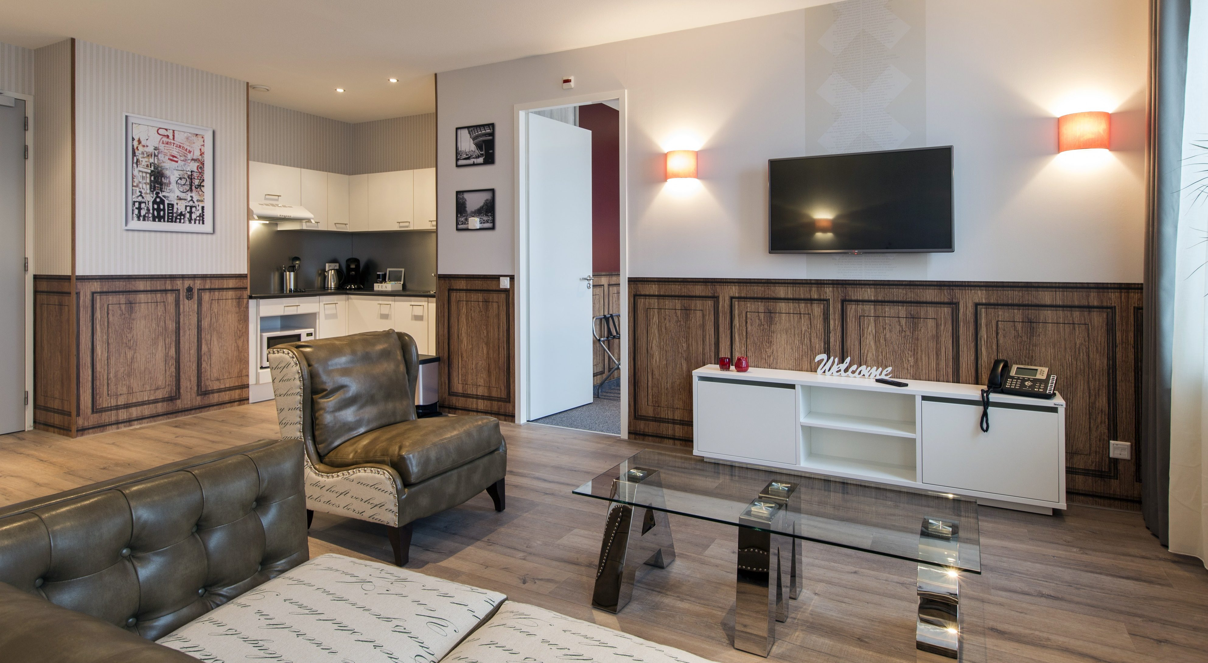 Amsterdam id aparthotel kiest voor ew facility services for Aparthotel amsterdam