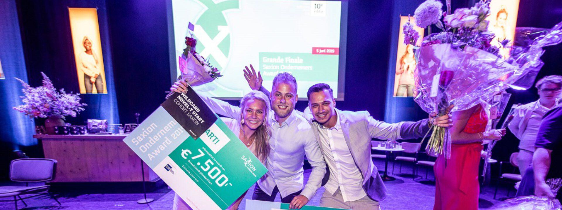 Jubileumeditie Saxion Ondernemers Award kent 2 winnaars