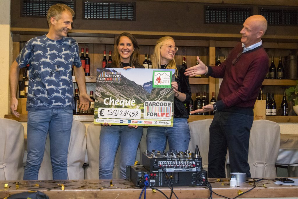 Cheque Stelvio for Life 2018